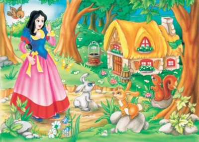 Snow White - 20pc Tray Puzzle by Cobble Hill