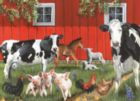 Red Barn Farm - 35pc Tray Puzzle by Cobble Hill