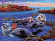 Otter Nap - 35pc Tray Puzzle by Cobble Hill