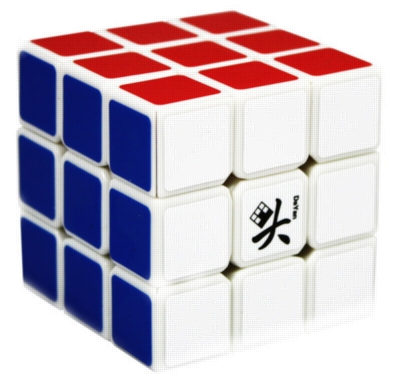 Speed Cube, Generation V (White) - Puzzle Cube
