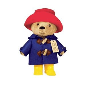 "Paddington Bear (w/ Yellow Boots) - 10"" Bear"