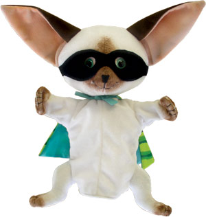 "Skippyjon Jones - 14"" Chihuahua Puppet by MerryMakers"