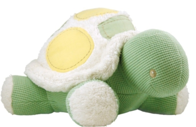 """Organic 13"""" Turtle - Made w/ Organic Cotton & All Natural Fill"""