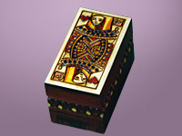 Queen of Hearts - Double Deck Card Box
