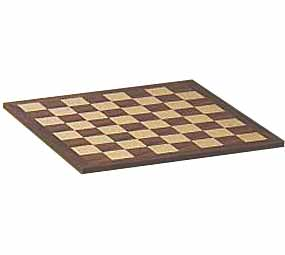 "16"" Walnut - Chessboard"