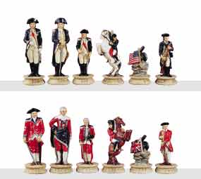 Chess Pieces - US Revolutionary