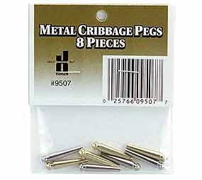 Metal Cribbage Pegs