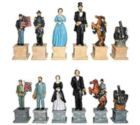 "Civil War - 4.5"" Chessmen"