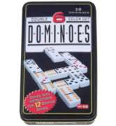 Double 6 Domino in Tin - Classic Game