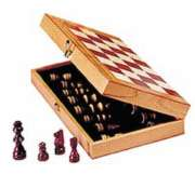 Chess in a Box with 10.5&quot; Board - Chess Set