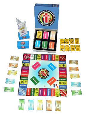 Salvation Challenge - Board Game