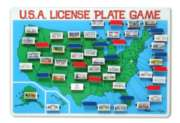 Travel Games - License Plate Game