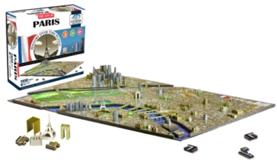 Paris - 1100pc 4D Cityscape Jigsaw Puzzle