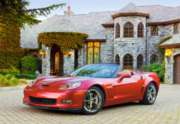 Chevrolet Corvette GS Convertible - 1000pc Jigsaw Puzzle by Castorland