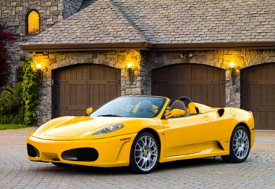 Ferrari F430 Spider - 1000pc Jigsaw Puzzle by Castorland