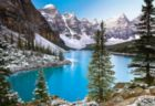 Jewel of the Rockies, Canada - 1000pc Jigsaw Puzzle by Castorland