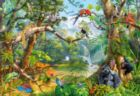 Life Hidden in Jungle - 2000pc Jigsaw Puzzle by Castorland