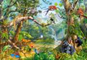 Jigsaw Puzzles - Life Hidden in Jungle