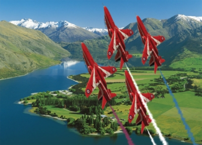 Jigsaw Puzzles - Red Arrows