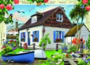 Fisherman's Cottage - 1000pc Jigsaw Puzzle By Holdson