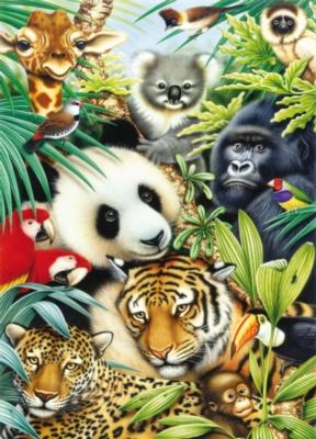 Jigsaw Puzzles - Panda Montage