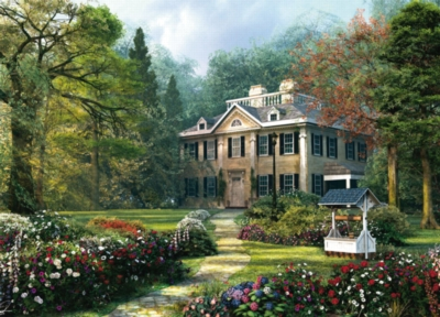 Longfellow House - 1000pc Jigsaw Puzzle By Holdson