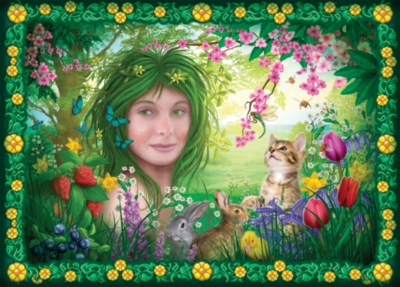 Spirits of Spring - 1000pc Jigsaw Puzzle By Holdson