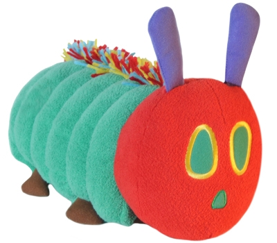 Very Hungry Caterpillar - 15&quot; Caterpillar by Zoobie Pets