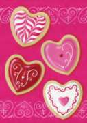 Heart Cookies - Garden Flag by Toland