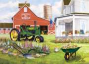 John Deere: Springtime Garden - 1000pc Jigsaw Puzzle by Masterpieces