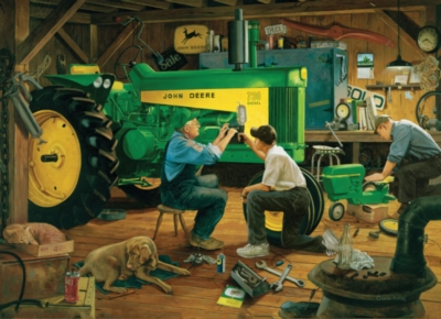 Jigsaw Puzzles - John Deere: Our Family's Heritage