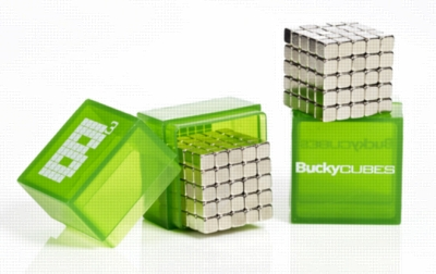 Bucky Cubes - 125 Powerful Earth Magnets