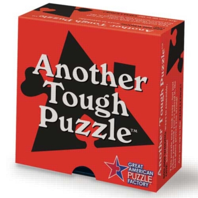 Another Tough Puzzle - 16pc Jigsaw Puzzle By Great American Puzzle Factory