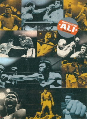 Muhammad Ali, Collage - 1000pc Jigsaw Puzzle by Culturenik
