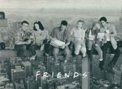 Friends, Over New York - 1000pc Jigsaw Puzzle by Culturenik