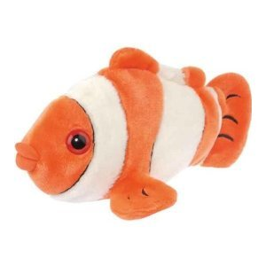 "Orange Clownfish - 12"" Fish by Wild Republic"