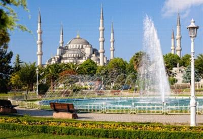 Jigsaw Puzzles - Sultan Ahmet Camii, Istanbul, Turkey