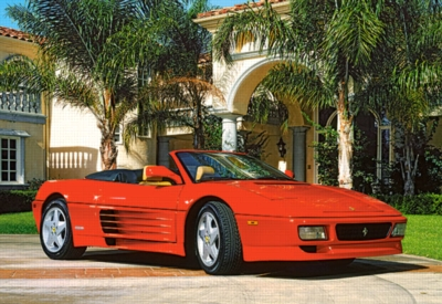 Ferrari 348 - 260pc Jigsaw Puzzle by Castorland