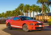 Shelby Ford Mustang GT500 - 260pc Jigsaw Puzzle by Castorland
