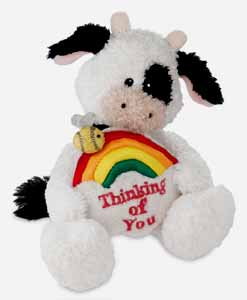 Thinking of You - 4.5'' Cow by Gund