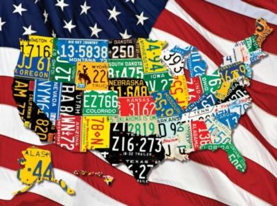 Springbok Jigsaw Puzzles - State Plates
