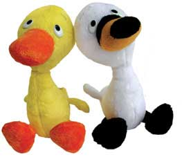 "Duck & Goose - 9"" ea, set of 2, by MerryMakers"