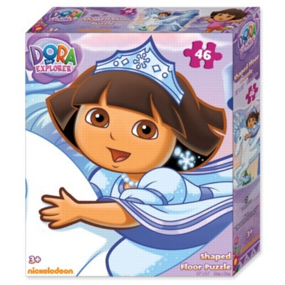 Dora the Explorer - 46pc 3ft Floor Jigsaw Puzzle