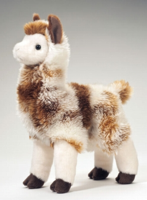"Liam - 11"" Llama By Douglas Cuddle Toy"