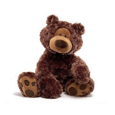 "Philbin (Chocolate) - 18"" Bear By Gund"