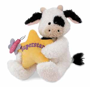 Superstar - 4.5'' Cow by Gund
