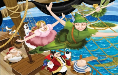 Peter Pan - 100pc Jigsaw Puzzle By Sunsout