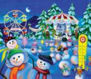 Snowman Carnival - 200pc Jigsaw Puzzle By Sunsout