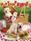 Picnic Time - 300pc Large Format Jigsaw Puzzle By Sunsout