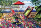 Beach Retreat - 500pc Jigsaw Puzzle By Sunsout